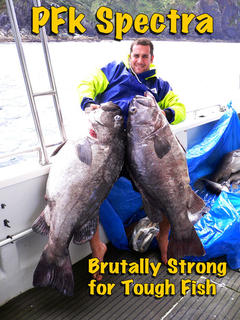 NZ Made 160lb Spectra Braid