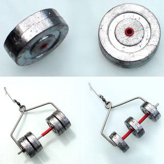 Kite Sinker Rolling Weight Wheel Only