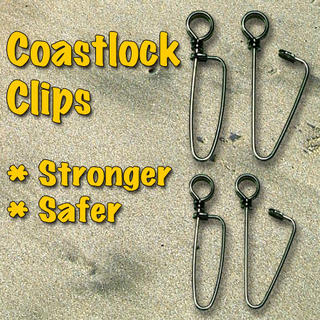 Coastlock Clips Size 6 Pack of 10