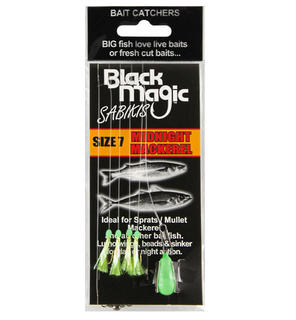 Black Magic Midnight Mackerel Bait Sabikis