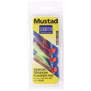 Mustad Demon Flasher Rigs