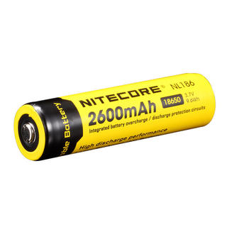 Nitecore NL186 2600mAh 18650 Battery