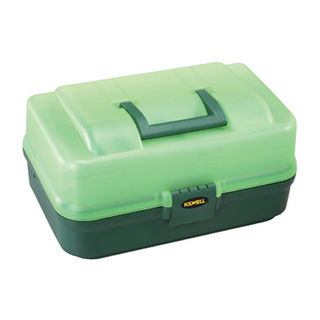 Kilwell Tackle Box 3 Tray Green