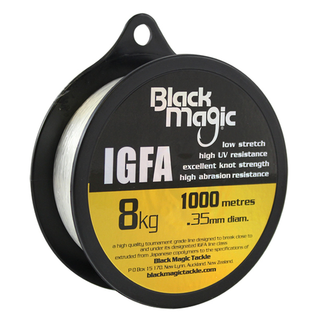 Black Magic IGFA Line 1000m Spools