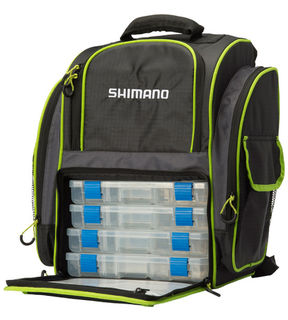 Shimano Deluxe 360 Tackle Backpack