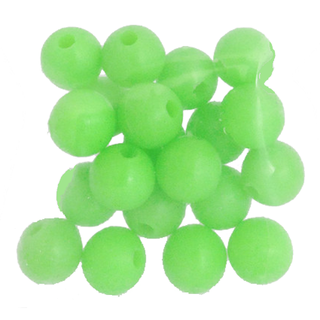 Lumo Beads - Green Round - 20 Pack