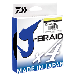 Daiwa J-Braid X4 Yellow 270m