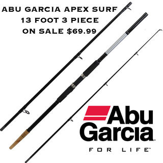 Abu Garcia Apex 3 Piece 13 Foot Surf Rod