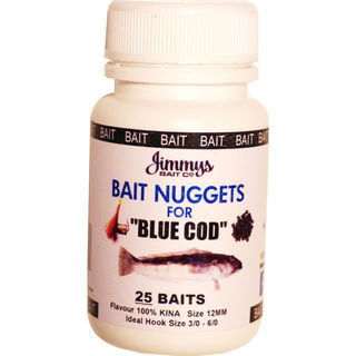 Jimmys Bait Blue Cod Nuggets