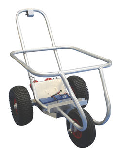 Seahorse Kontiki Motorised Beach Trolley