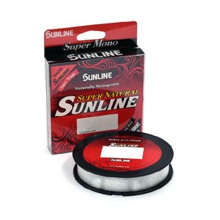 Sunline Super Natural Monofilament 330yds Spool