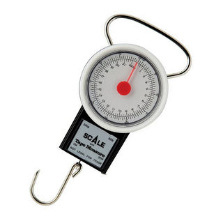 Berkley 22kg Fishing Scale With 1m Tape Measure