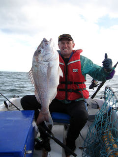 huge snapper geoff preston mokau
