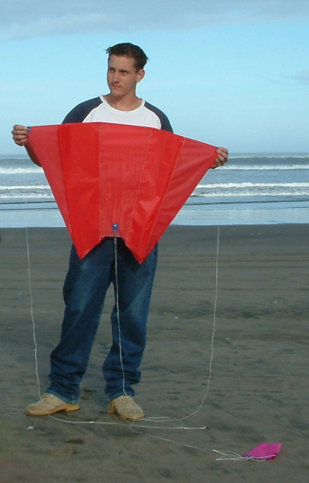 Large Pocket Sled Kite