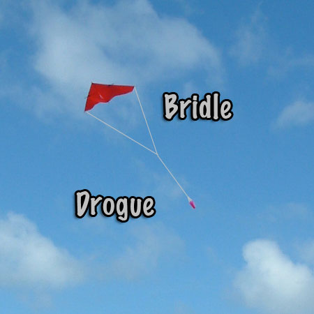 Dacron Bridle and Drogue