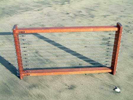 Large Trace Rack with 26 Target Snapper Traces