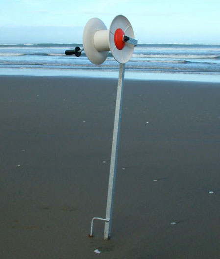 Beach Reel Standard with Galvanised Reel Post