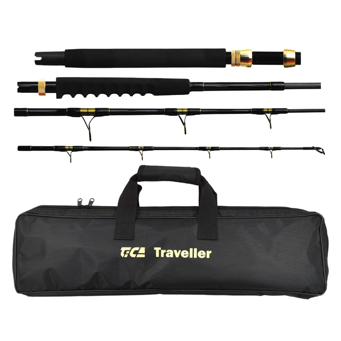 Tica Traveller 704 4pc 15kg Boat/Spin Rod