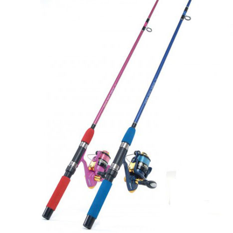 Jarvis walker minnow kids sets on sale for Fishing pole setup beginners