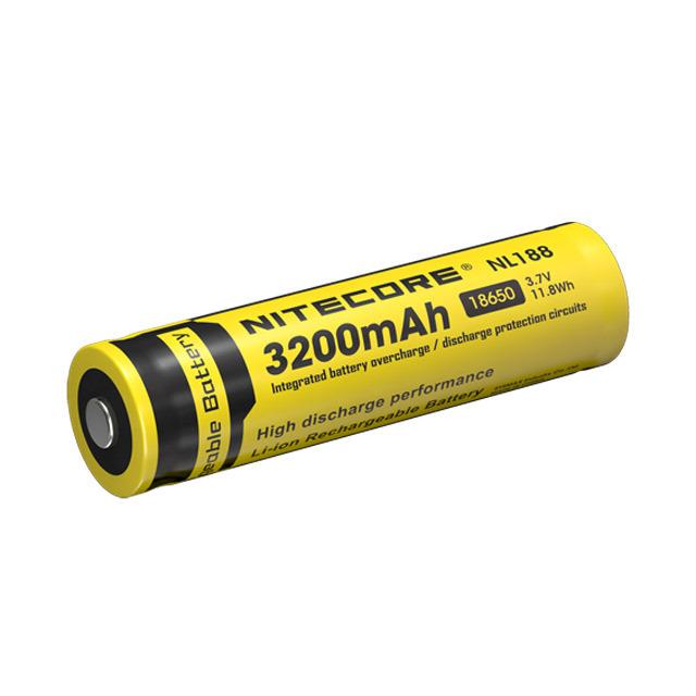 Nitecore Nl188 3200mah 18650 Battery