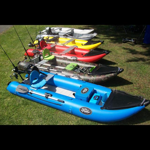 Nifty Boats Inflatable Fishing Kayaks