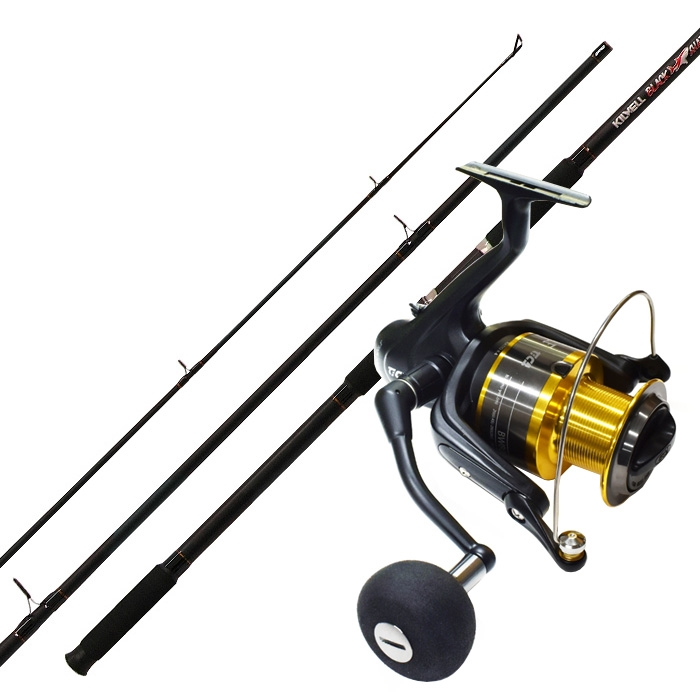 Kilwell Surf Combo Tica Brute Wolf Black Shadow 14ft