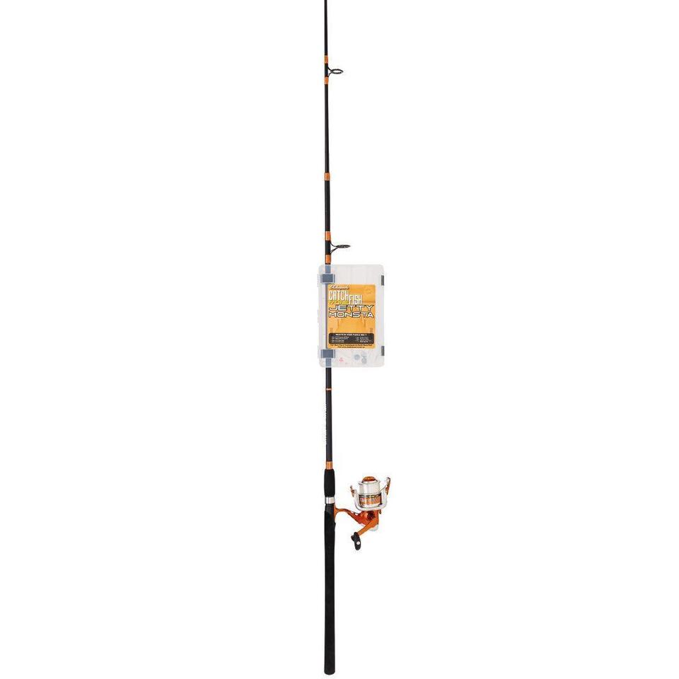 Shakespeare Catch Fish Monsta 8FT 2 Piece 4-8Kg Combo with Tackle Kit