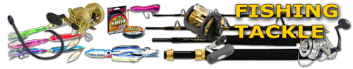 discount fishing tackle sale