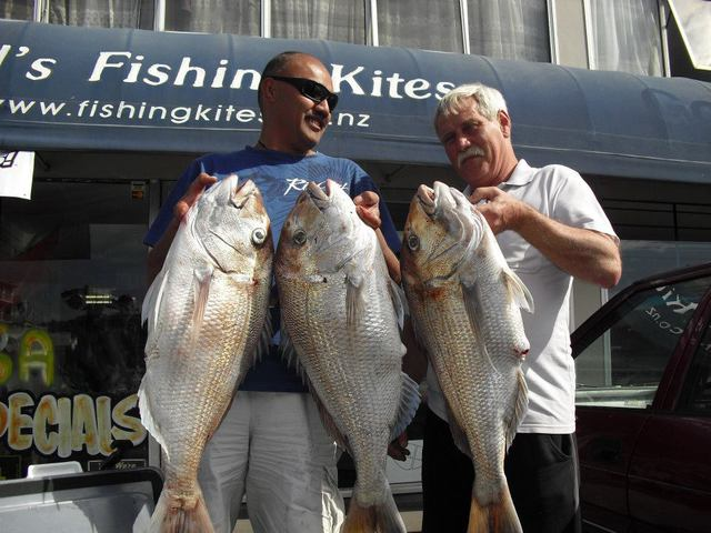 Kite Dropper Rig Catches Big Snapper