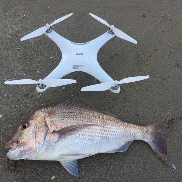 Drone Fishing Catches