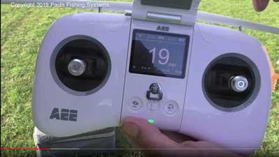 fishing drone calibration