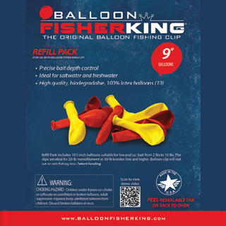 Balloon Fisher King Refill Pack